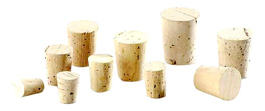 Natural Tapered Cork Stopper