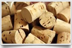 Tapered Cork Stopper